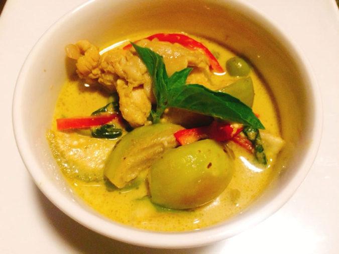 のグリーンカレー|成田 タイ料理-レストラン ワンディー|Wandee Thai Restaurant Narita