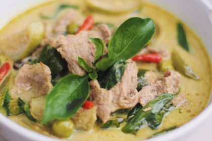 แกงเขียวหวาน ゲーンキョウワン グリーンカレー Green Curry
