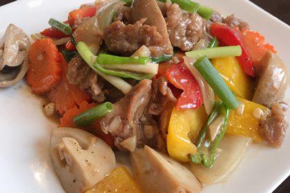 ผัดน้ำมันหอย|パットナムマンホイ|カキソース妙め|Fried in Oyster Sauce
