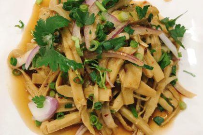 ซุปหน่อไม้ スープノーマイ 竹の子千切りサラダ Bamboo Shoot Spicy Salad