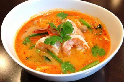ต้มยำกุ้ง|トムヤムクン|タイ風エビスープ|Thai spicy sour shrimp soup