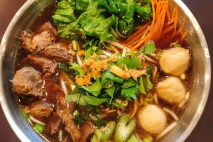 เกาเหลาหมูตุ๋นหม้อไฟ|ガオラオ・ムートゥン|野菜や豚肉煮込みスープ鍋|Stewed pork soup with Vegetable hotpot