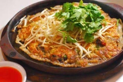 หอยทอด|ホイトート|貝のお好み焼き|Fried mussel pancakes