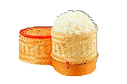 ข้าวเหนียวไทย カオニアオ タイもち米 Sticky Rice